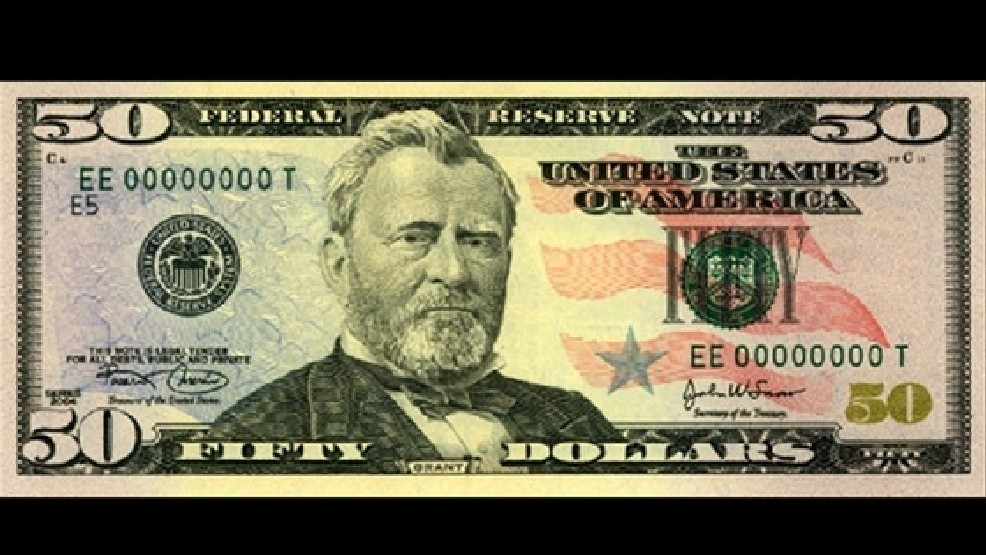 Fake 50 dollar bills discovered in Marshall area.