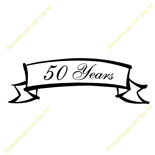 50th Year Clipart#2033498.