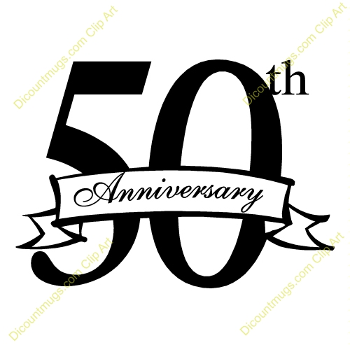 50 Years Anniversary Clipart#2231463.