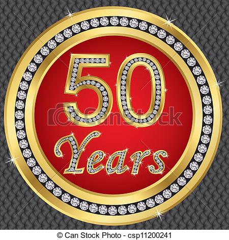 Clipart 50 Years.
