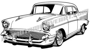 57 chevy clipart 3 » Clipart Station.