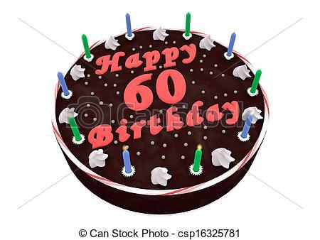 chocolate cake for 60th birthday.