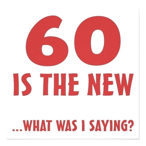 60th birthday clipart.