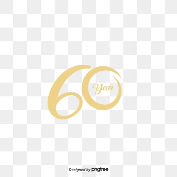 60th Anniversary Png, Vector, PSD, and Clipart With Transparent.