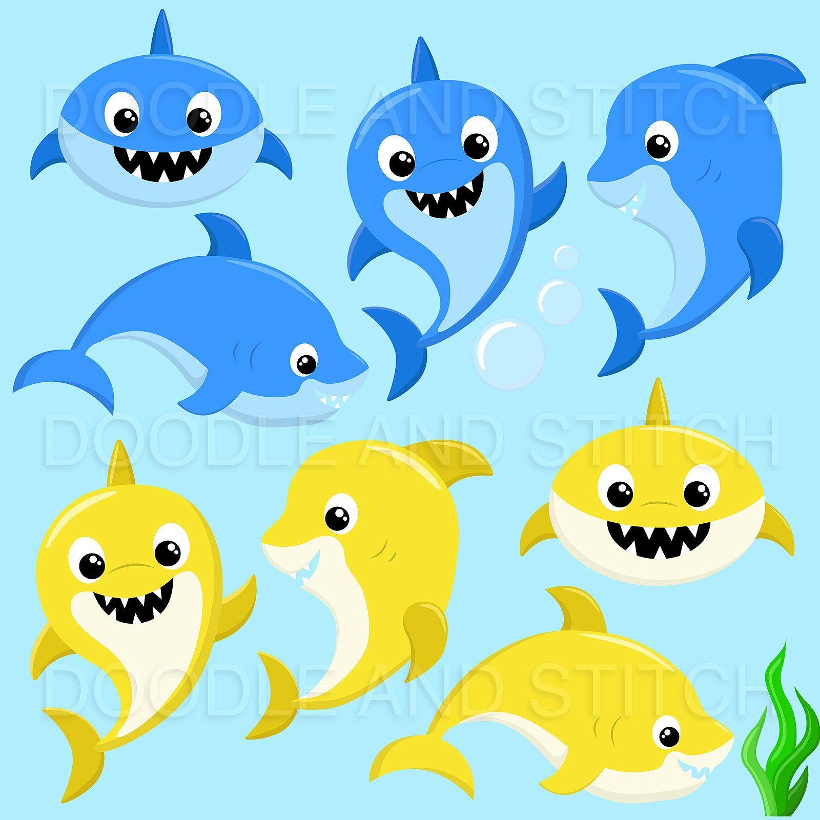 6355 Shark free clipart.