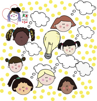 GROWTH MINDSET HUGE CLIPART PACK BW/COLOUR.