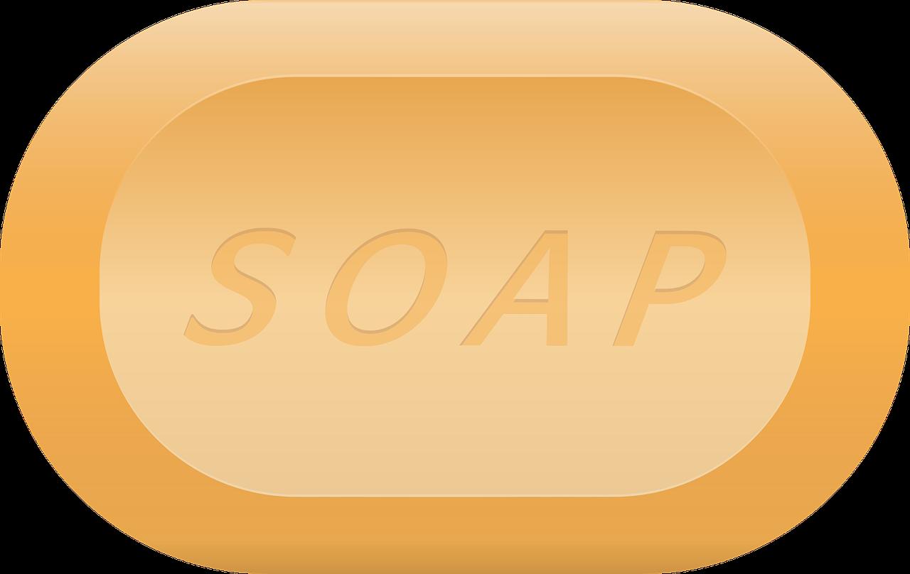 SOAP Clip art.