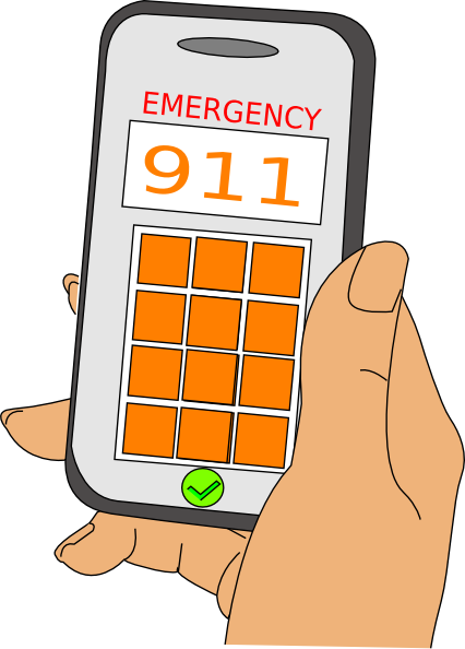 911 clipart emergency contact, 911 emergency contact.
