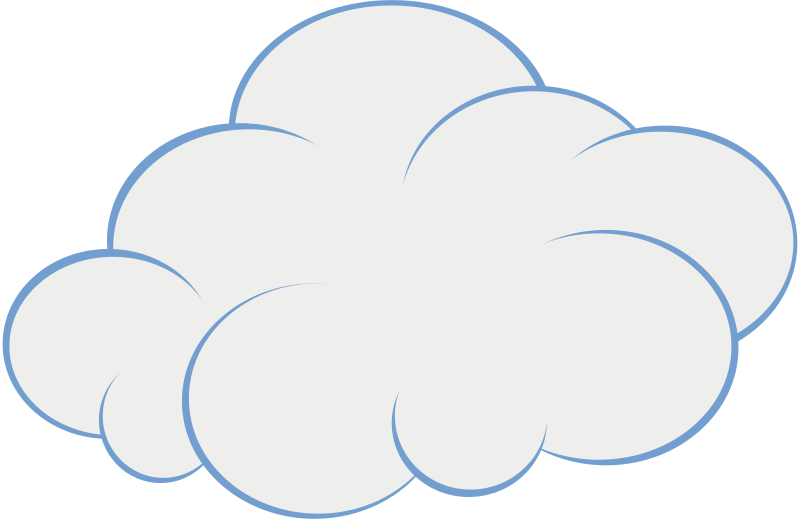 Clipart cloud bmp, Clipart cloud bmp Transparent FREE for.
