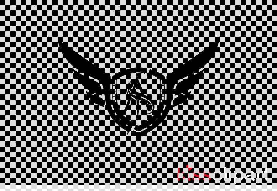 logo emblem font symbol wing clipart.
