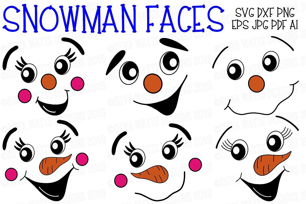 Snowman Faces.
