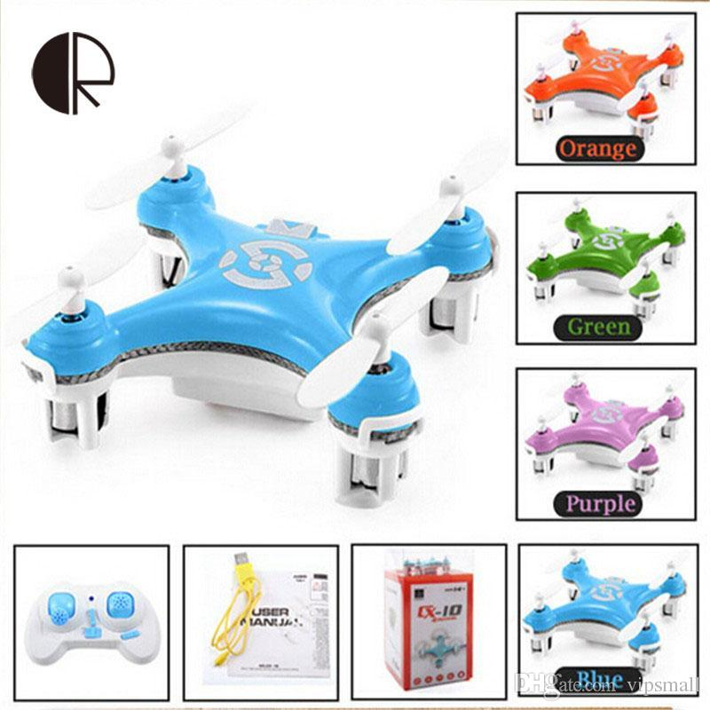 Cheerson Cx 10 Rc Quadcopter 4 Ch 2.4ghz 6 Axis Gyro Rc Aircraft.