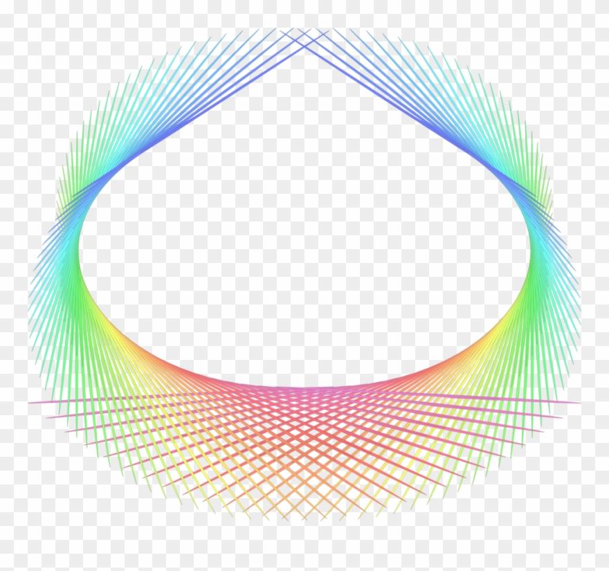 Rainbow Abstract Element.