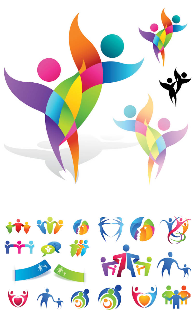 Abstract Designs People Clipart #431585.