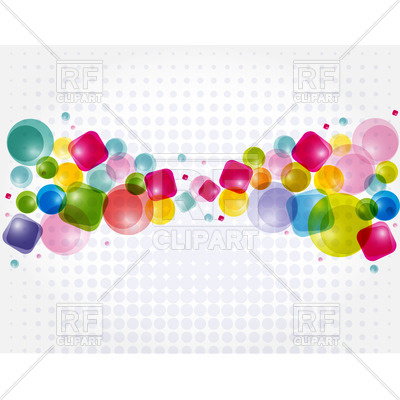 Design with abstract shapes Vector Image #21816.