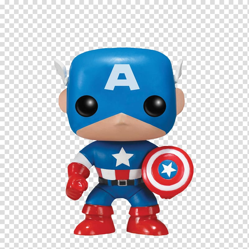 Captain America Funko Pop! Vinyl Figure Action & Toy Figures, Cap.