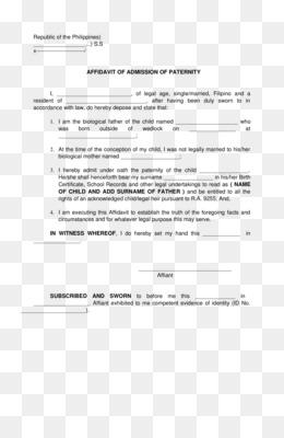 Affidavit PNG and Affidavit Transparent Clipart Free Download..