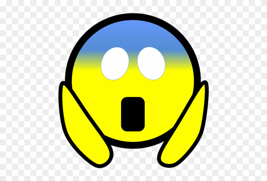 Emoji Face Clipart Afraid.