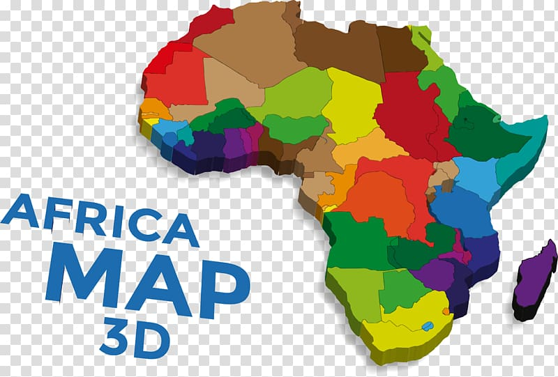 Africa Map Euclidean , map of Africa transparent background.