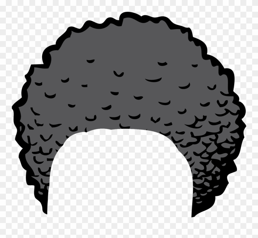 Clipart Of Hair And Bun Hair.