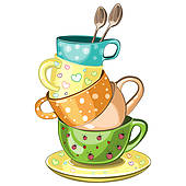 Afternoon tea party clipart 4 » Clipart Station.