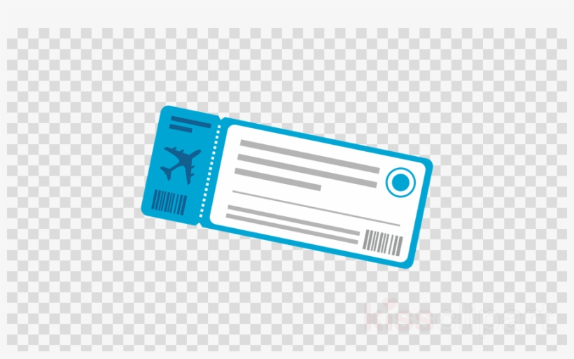 Plane Ticket Icon Clipart Air Travel Airplane Airline PNG.