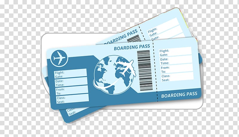 Flight Airplane Air travel Airline ticket Boarding pass.