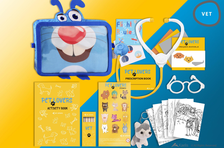 Career Choices: Air Astana Launches Six Educational Kits for.