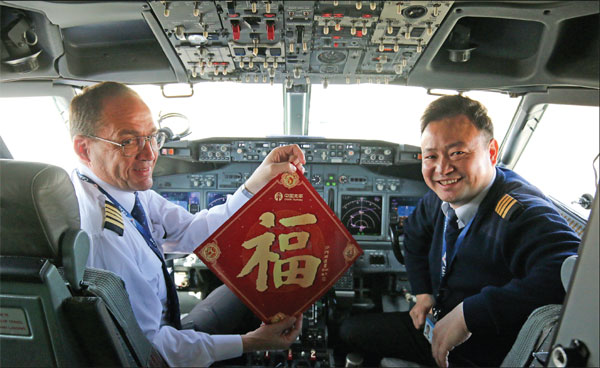 Demand for foreign pilots takes off.