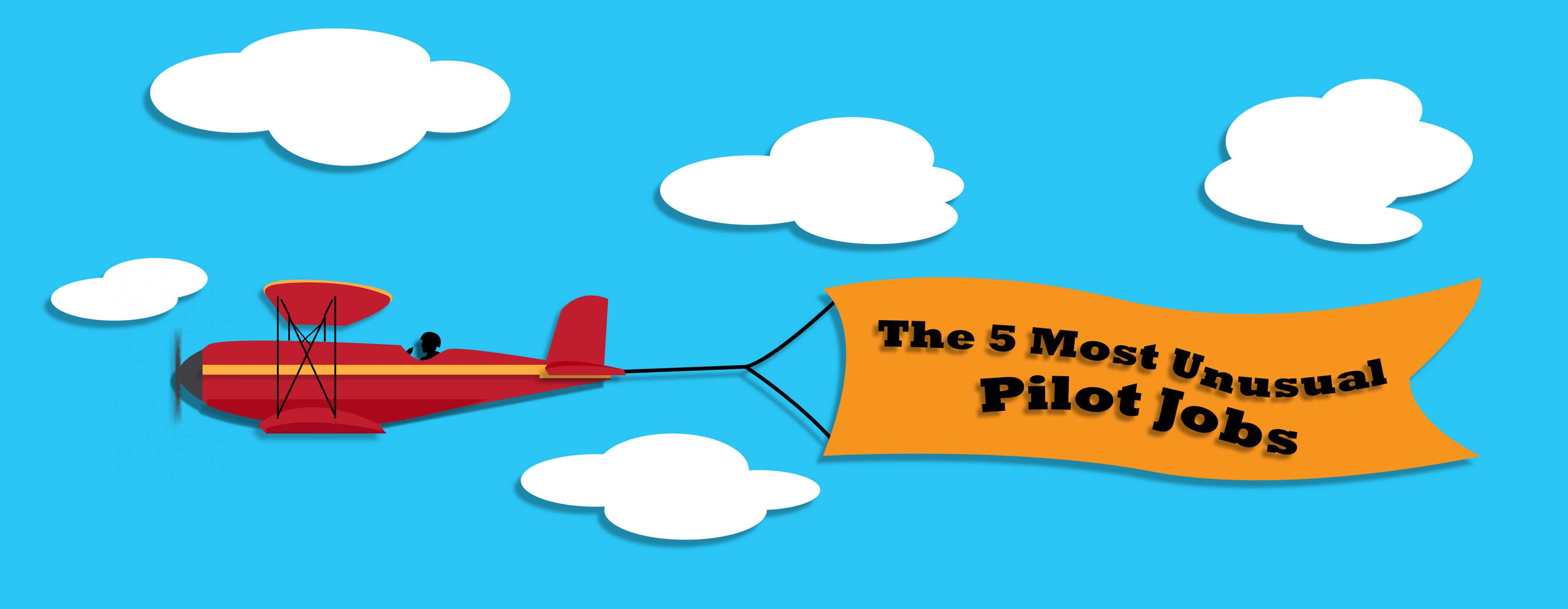 The 5 Most Unusual Pilot Jobs.