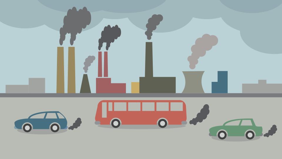 Pollution clipart bad air, Pollution bad air Transparent.
