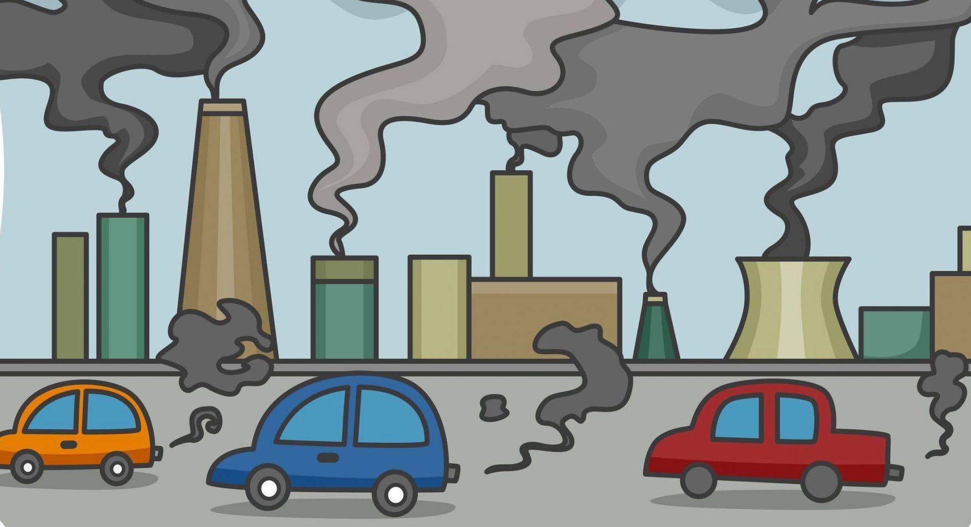 Pollution Air Clipart.