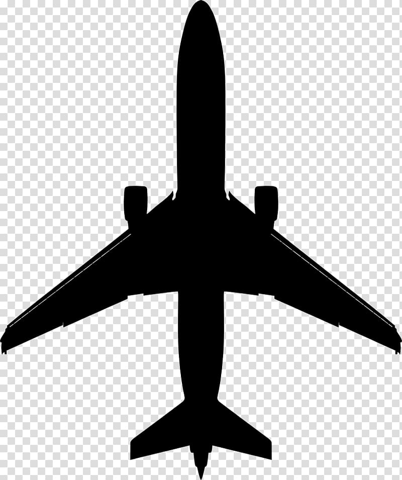 Airplane Aircraft Boeing 737 , aeroplane icon transparent.