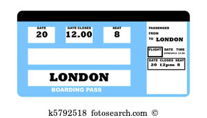 Airline tickets Illustrations and Clipart. 679 airline tickets.