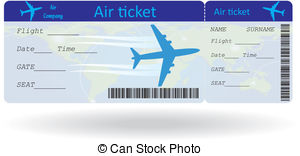 Flight ticket Vector Clip Art Illustrations. 3,875 Flight ticket.