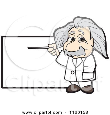 Albert Einstein Clipart 1.
