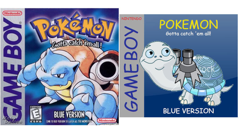 Fixing Video Game Box Art WithClip Art And Comic Sans.