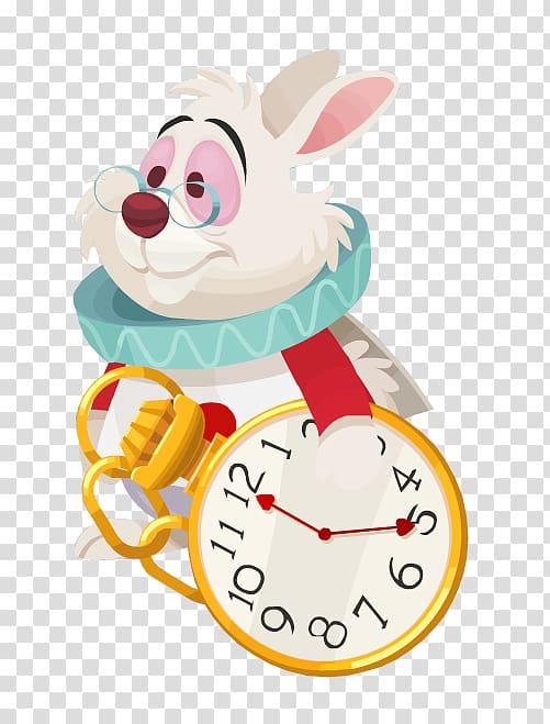Disney Alice in Wonderland Rabbit illustration, Alices.