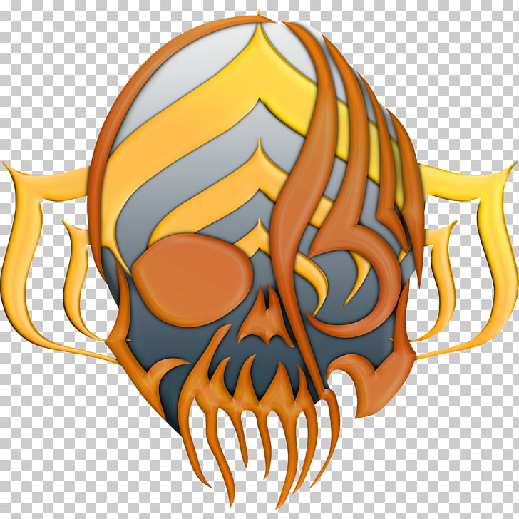 Warframe Skull Organism , goddess alliance PNG clipart.