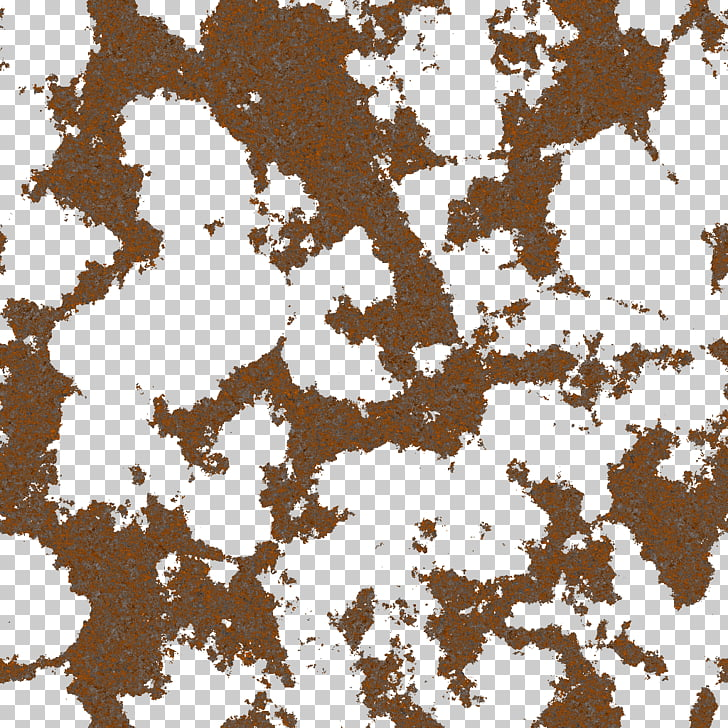 Light Texture mapping Rust Transparency and translucency.