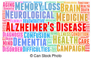 Clip Art of Alzheimer's or Dementia as a Medical Condition.