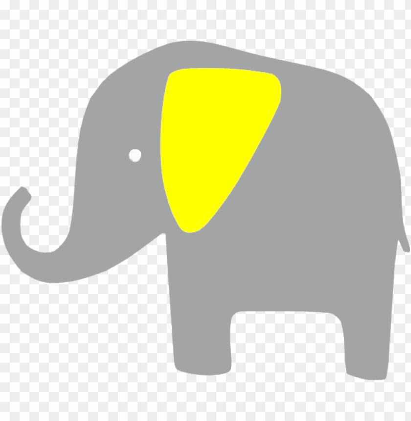 how to set use elefante amarillo clipart.