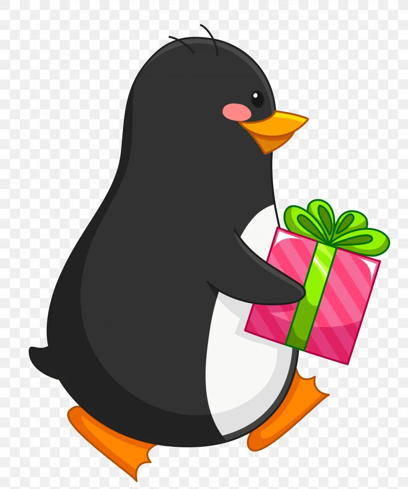 Penguin Amazon.com Christmas Gift Gift Card, PNG.