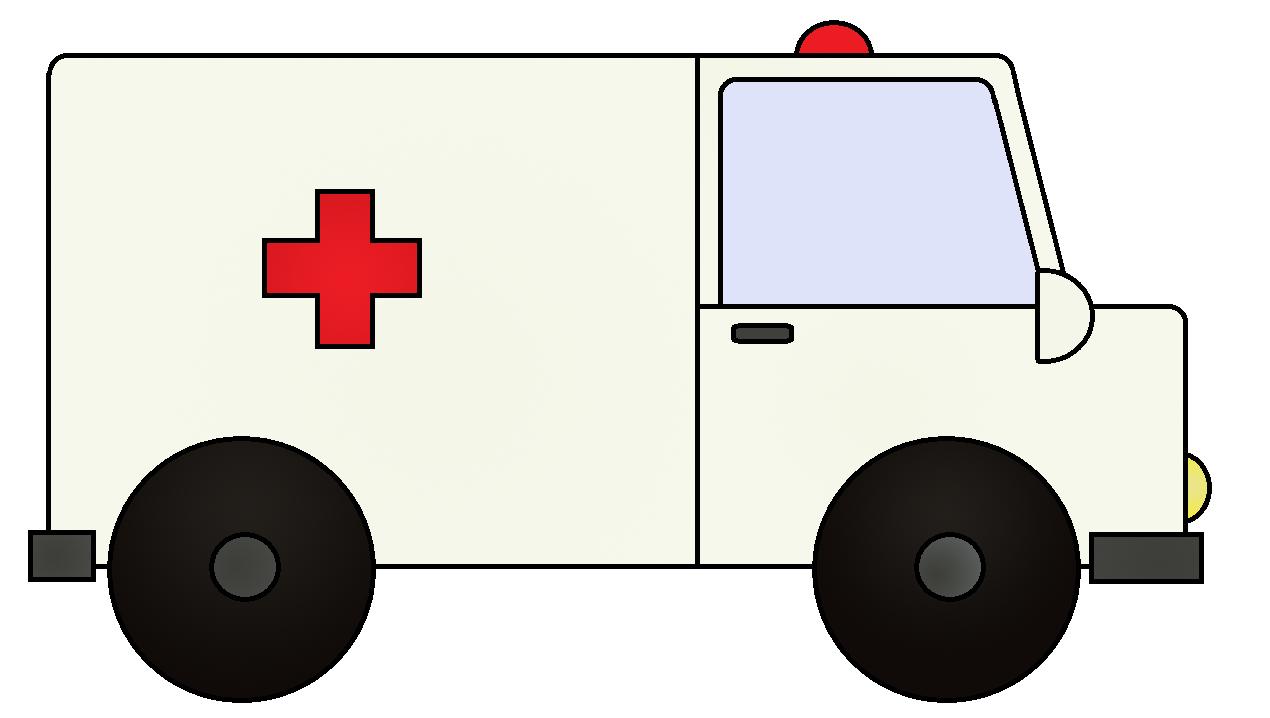 Clipart ambulance icon image.