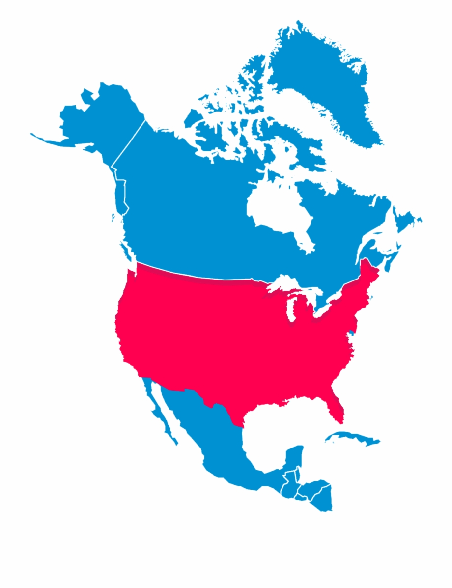 Usa clipart map america, Usa map america Transparent FREE.