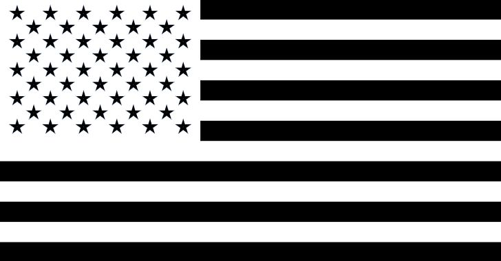Flag Of The United States Black PNG, Clipart, American Flag.