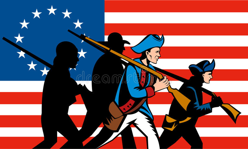 American Revolution Stock Illustrations.