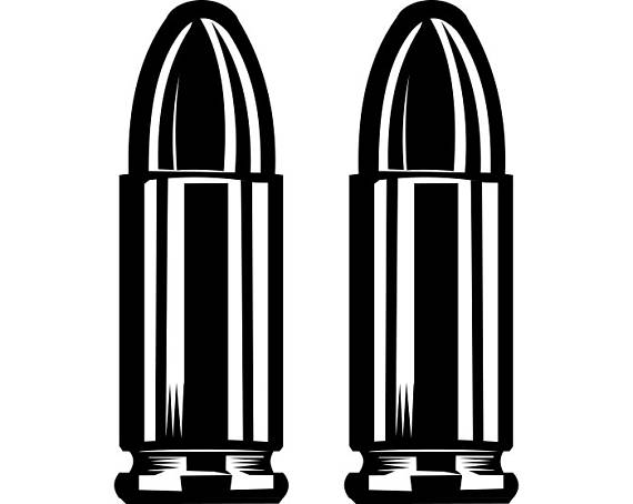 Bullet clipart ammo, Bullet ammo Transparent FREE for.