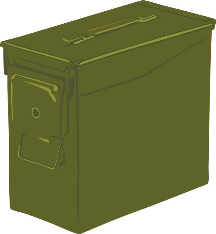 Free Clipart: Ammo Can.
