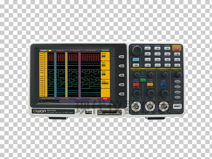 Digital storage oscilloscope Logic analyzer Analyser Digital.